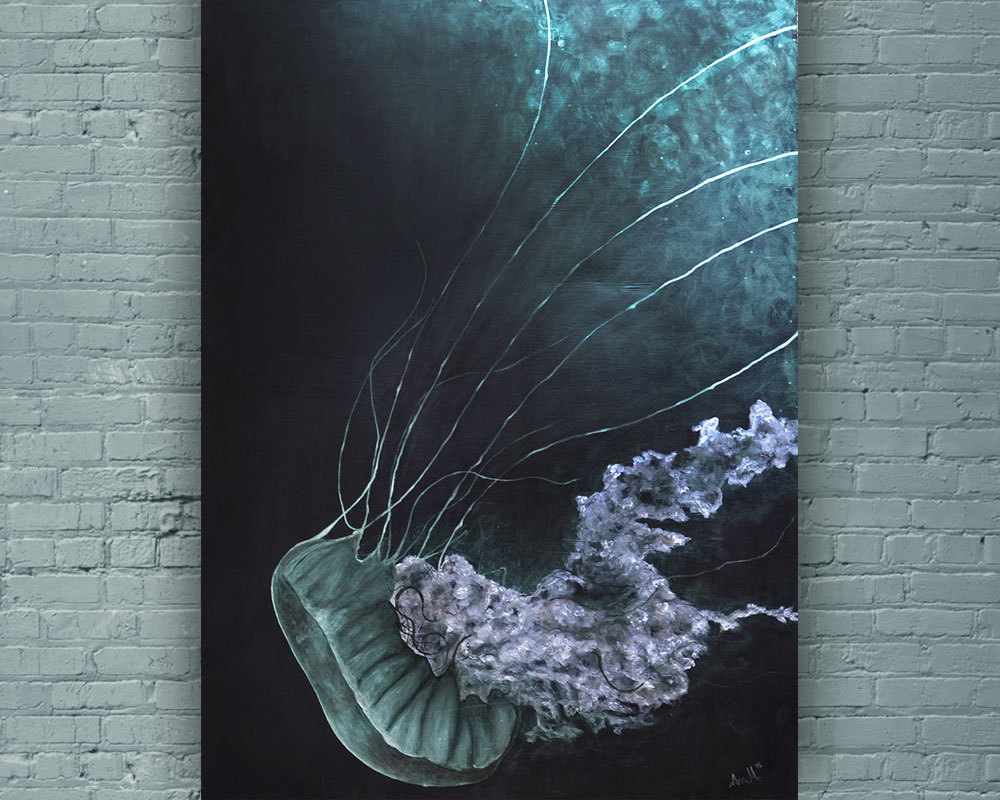 jellyfish_wall_art